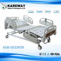 Cheap Luxurious Plastic Guard Rails Electric Care Bed Five Functions with Central Brake For ICU Room for sale