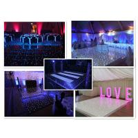 Quality High Quality Led Screen Tile light up dance floor for sale used led dance floor