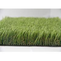 Cheap Durable Anti-UV Outdoor Synthetic Turf Residential Synthetic Grass 5 - 7 Year Warranty for sale