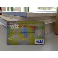 Cheap Advanced ATM Card / VISA Smart Card with High-tech Anti-fake Feature for sale