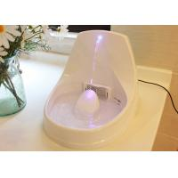 Blue LED light Electric Pet Water Fountain BPA Free Plastic Design