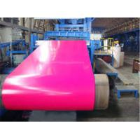 HPC , PVDF Paint Type Color Coated Aluminum Coil  Anti - Scratch Prepainted