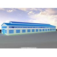 Cheap High Strength Prefabricated Steel Warehouse JIS SS400 Material Flexibility for sale