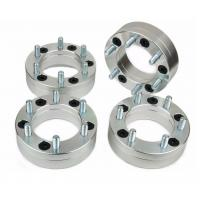 "Cnc Car Wheel Spacers 2"" THICK , Complete Kit Wheel Spacer Adapter 4 Pcs"