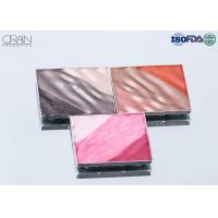 Cheap OEM square multi-color waved shadow palette Strong High Pigment Eyeshadow for sale