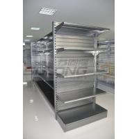 Cheap Supermarket Display Racks , Metal Retail Shelving ISO9001 Certification for sale