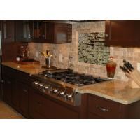 Latest Design Engineered Granite Countertops Montary Brand Waterfall Eased Edge