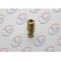 0.01KG CNC Precision Machined Parts , Small Brass Hollow Bolt For Electronic Equipments