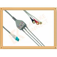 Cheap OEM Siemens Draeger ECG Patient Cable 10 Pin One Piece 3 Leads for sale