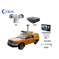 Infrared HD Auto Vehicle PTZ Camera 360 Degree Rotation 4G Dynamic Forensic System