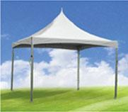 Cheap OEM square titanium alloy pole tent for sale