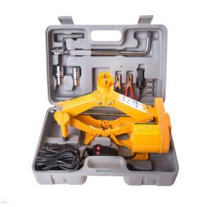 high quality 2 tons auto suv scissor lift jack set manufacture