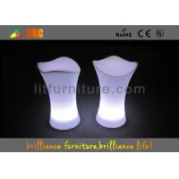 Buy cheap Lightweight lighting LED Bar Stools for Events with 16 colors changeable from wholesalers
