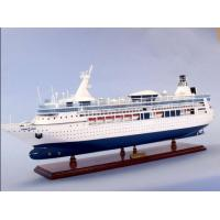 Durable Vision Of The Seas Royal Caribbean Cruise Ship Models With Single Piece Assembly Container Material