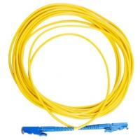 UPC 9 / 125um Fiber Optic Pigtail Patch Cord For Transmission Mode , Yellow Color