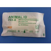 Cheap Animal ID Microchip Needle 134.2khz , ISO Standard Microchip With Injector for sale