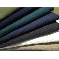 Quality 55/45 LINEN COTTON INTERWEAVE  PLAIN DYED WITH CREPE   CWT# 5147 for sale