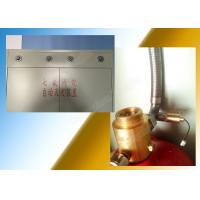 Red / Silver HFC227ea Fire Suppression System 2.5Mpa Working Pressure