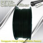 Cheap High Strength Filament 3D Printer Filament 1.75mm PETG - Carbon Fiber Black Filament for sale