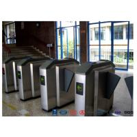 Cheap Facial Reader Access Control Flap Barrier Gate Stainless Steel For Entrance for sale