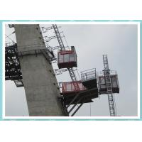 Single Cabin Constrution Man and Material Hoist Building Elevator