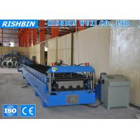 Cheap 1250mm Hydraulic Cutting Metal Deck Roll Forming Machines with 26 Rollers Steps for sale