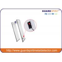 Cheap 6 Zones Walk Through Metal Detector For Public Security Checking for sale