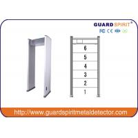 Cheap Led Alarm Multi Zone Door Frame Metal Detector Walk Through With Backup Batery for sale