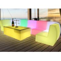 Buy cheap Rechargeable Bistro Club Pub LED Bar Table / Lighted Bar Tables from wholesalers