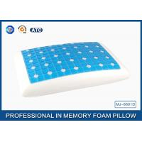Cheap Reversible Ventilated Cooling Gel Memory Foam Pillow With Air Holes 60X40CM Size for sale