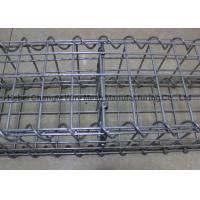 Strong Galvanized Stone Filled Cages Explosionproof , Retaining Wall Baskets Box Wear Resistance