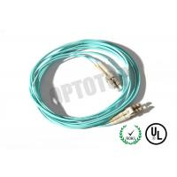 LC UPC Connector Multimode Patch Cord 2 Fiber Zip For Test Equipment / CATV