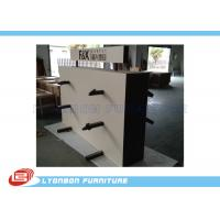 Buy cheap Market Metal Hanger Wooden Display Racks Customized For Carpet Present from wholesalers