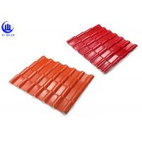 Cheap Warehouse Synthetic Spanish Roof Tiles Acoustic Insulation Corrosion Resistance for sale
