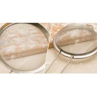Cheap Stainless Steel Taper Mesh Cooking Oil Strainer / Sieve For Kitchen , 0.02mm-2mm Wire Dia for sale