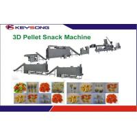 Indutstrial Snack Food Extruder Machine , High Performance 3d Pellet Snack Machine