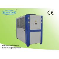 Cheap Air Cooled Industrial Chiller For Injection Machine Air Cooled Galvanized Sheet Shell for sale
