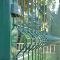 Razor Welded Wire Mesh Fence Panels In 6 Gauge Airport Security Perimeter Images