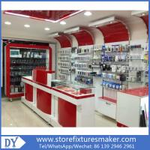 076b4a99b7a272 New mobile phone shop design/mobile phone shop interior design ...