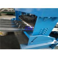 Durable Gearbox Drive Floor Deck Roll Forming Machine PLC Control with Touch Screen