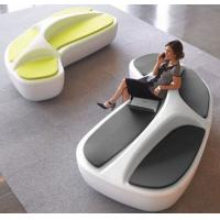 Buy cheap 2018  New Arrival Fiber glasses made shopping mall  seating lovely stool to rest from wholesalers