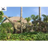 Cheap Realistic Full Size Dinosaur Lawn Statue Artificial Moving Dinosaur Statues On Lawn for sale