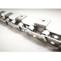 Cheap Durable Roller Stainless Steel Conveyor Chain High Frequency Quenching for sale