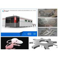 4000 W 6000w Fiber Metal Laser Cutter , Stainless Steel Laser Cutting Machine