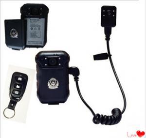 Portable Police 4G Body Worn Camera 32GB TF Card 100*63*30 Cm Dimension