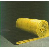 Cheap Sound Absorption Glass Wool Blanket / Felt Roll Faced With Black Glass Tissue for sale