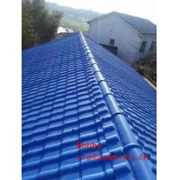 Replace Clay Roof Tile Forming Machine / PVC Roofing sheet Roll Forming Line