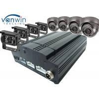 Cheap Fuel Tank Monitoring 3G / 4G GPS Wifi 8ch Mobile DVR , HDD SSD MDVR With Cameras for sale