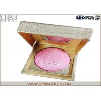 Golden Box Matte Powder Blush , Beautiful Pale Pink Blush For Dry Skin