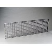 Cheap Common Size Stainless Steel Grate Sheet , Structural Composite SS Floor Grating for sale